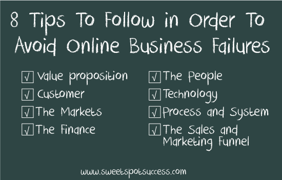 8 Tips: Online Business Advice